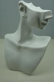 *[ 9170 ] Hoofdje Wit, 19 5 x 14.5 cm. per stuk