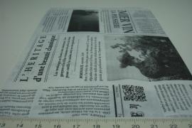 *[ 8266 ] Papieren zakjes  13.5 x 19 cm. Krant, 50 stuks