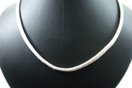 [ 1428 ] 5 mm. Veter Ketting 50 cm. Creme