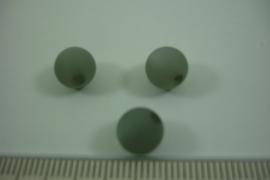(0062) Polaris mat 8 mm. Grijs, per stuk