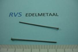 [ 8358 ] RVS, Nietstift 30 mm. per 40 stuks
