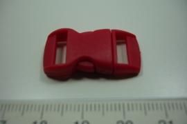 [ 0866 ] Klik slot 28.5 x 14.5 mm. Rood, per stuk