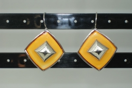 [OR,021] metalen Oorbel hang, type 1
