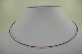 [ 1167 ] Spang 43 cm. met draaislotje, Licht Paars, per stuk