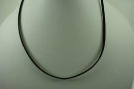 [ 1402 ] Veter Ketting 46 cm.  Donker Bruin