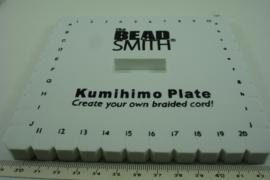 [ 6699 ] Kumihimo Vierkant 14 cm. per stuk
