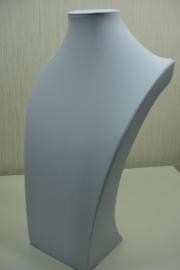 *[ 9209 ] Hals Luxe Zwart Leer, Super 39 cm.