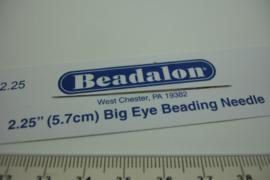 [ 6915 ] Big Eye Naald 5.7 cm. van Beadalon, per stuk