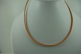 [ 1399 ] Veter Ketting  45 cm. Oranje
