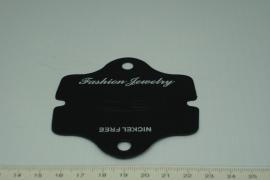 [5263 ] Oorbel ophang kaartje karton,  10 stuks