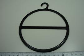 [ 8330 ] Sjaal hanger Rond 13 cm. per stuk