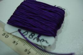 [5664 ] Katoen koord 0.8 mm. Paars, 10 meter