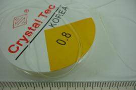 [ 8021 ] Elastisch Nylon 0.8 mm, 8 meter