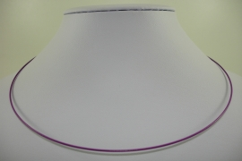 [ 1150 ] Spang 45 cm. met draaislotje, Paars, per stuk