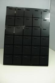 *[ 9154 ] Piercing standaard voor 30 stuks, 17 x 22 cm.