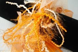 [OR,010] Haar elastiek Oranje