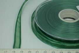 [8081 ] Organza lint  Donker groen  per Meter