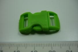 [ 0865 ] Klik slot 28.5 x 14.5 mm. Groen, per stuk