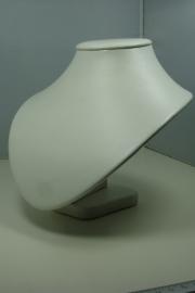 *[ 9233 ] Hals Kort, Off With, Zware kwaliteit 19 cm.