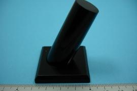 *[ 9168 ] Ring Standaard, Zwart, per stuk
