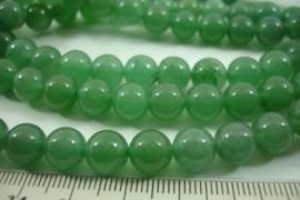 [ 8622 ] Jade Groen  8 mm.  per streng 39 cm.