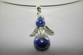 [ 1122 ] Bescherm Engel 3.3 cm. Lapis Lazuli, per stuk