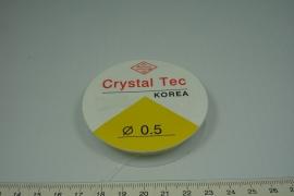[ 8134 ] Elastich Nylon, 0.5 mm. 11 meter
