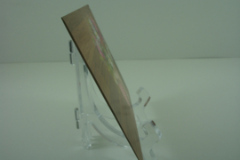 +[ 9326 ] Bord standaard 11 cm.  Helder, per stuk