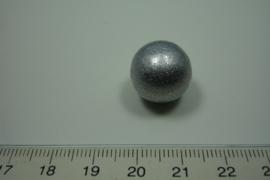 [ 0929 ] Klank bal 16 mm. Zilver