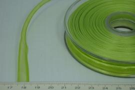 [8083 ] Organza lint  Licht Groen  per Meter