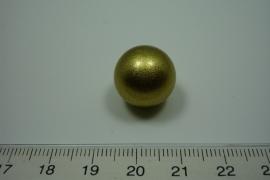 [ 0920 ] Klank bal 16 mm. Goud.