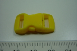 [ 0867 ] Klik slot 28.5 x 14.5 mm. Geel, per stuk