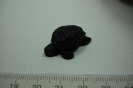 [ 7085 ] Schildpadje 27 x 19 mm. Donker Bruin, per stuk