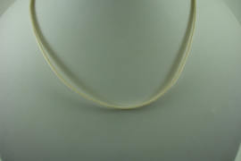 [ 1403 ] Veter Ketting  46 cm. Creme