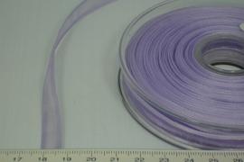[8078 ] Organza lint  Lila  per Meter