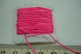 [5667 ] Katoen koord 0.7 mm. Roze, 10 meter