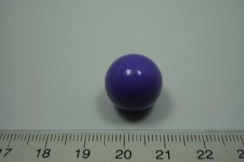 [ 0919 ] Klank bal 16 mm. Paars