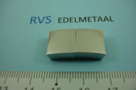 [ 8441 ] RVS,  Magneet slot 10 x 3 mm. inw.  per stuk
