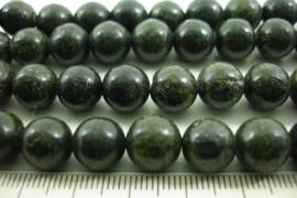 *[ 8565 ] Zoïesiet  10 mm.  per streng 39 cm.