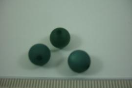 (0055) Polaris mat 8 mm. Leger Groen, per stuk
