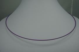 [0718 ] Spang 47 cm. Paars, met Draai slot, per stuk
