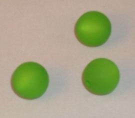 (0229) Polaris mat 12 mm lichtgroen.