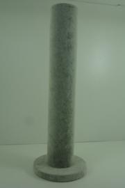 *[ 9320 ] 1 Rol staand 32 cm. Grijs Fluweel