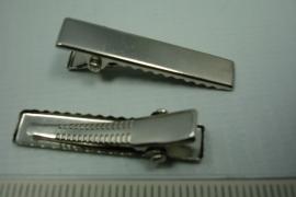 [ 0764 ] Haarclip 32 mm. per stuk