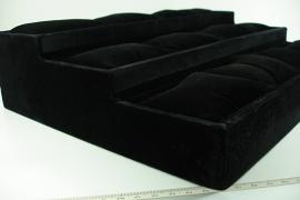 *[ 9256 ] 3 traps bak met 12 vak en kussentjes, per stuk