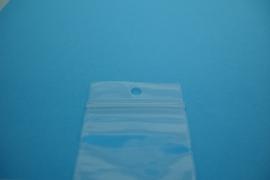 [9058 ] Gripzakje 4 x 4 cm. Blank, 100 stuks