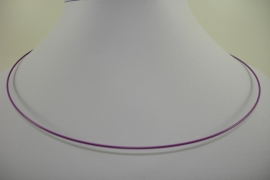 [ 1157 ] Spang 47 cm. met draaislot, Licht Paars, per stuk