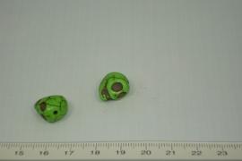 [0401 ] Doodshoofd 13 mm. Groen