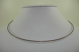 [ 1163 ] Spang 43 cm. met draaislotje, Bruin, per stuk