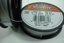 [ 6518 ] Wild Fire 0.15 mm. Wit, per rol